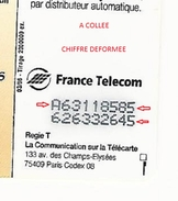 CURIOSITES 1996 F632 PERSIL PLUS BLANC 50 U SO3  03 / 96 UTILISEE DESCRIPTION - Frankreich