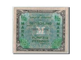 Allemagne, 1/2 Mark, 1944, KM:191a, TB - [ 5] Ocupación De Los Aliados