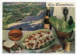 Recette Cuisine--Les Cannellonis (vin Côtes De Provence)  Emilie Bernard  Recette N°109  ,cpsm 15 X 10  éd  Lyna - Recettes (cuisine)