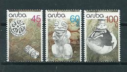 1990 Aruba Complete Set Archeology MNH/Postfris/Neuf Sans Charniere - Curaçao, Nederlandse Antillen, Aruba