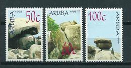 1993 Aruba Complete Set Rock Formations MNH/Postfris/Neuf Sans Charniere - Curaçao, Antilles Neérlandaises, Aruba