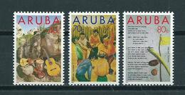 1993 Aruba Complete Set Folklore,Dera Gai MNH/Postfris/Neuf Sans Charniere - Curaçao, Nederlandse Antillen, Aruba