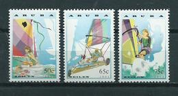 1993 Aruba Complete Set Sailing,zeilen MNH/Postfris/Neuf Sans Charniere - Curaçao, Antilles Neérlandaises, Aruba