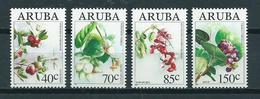 1994 Aruba Complete Set Fruits,plants MNH/Postfris/Neuf Sans Charniere - Curaçao, Antilles Neérlandaises, Aruba