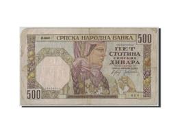 Serbie, 500 Dinara, 1941, 1941-11-01, KM:27A, B+ - Serbie