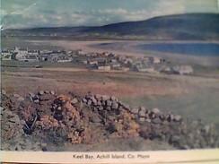 IRELAND MAYO KEEL BAY AND VILLAGE ACHILL ISLAND V1968 FW9468 - Mayo