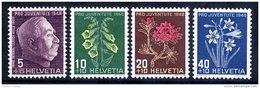 SWITZERLAND 1948 Pro Juventute Set  MNH / **.  Michel 514-17 - Switzerland