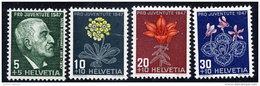SWITZERLAND 1947 Pro Juventute Set  MNH / **.  Michel 488-91 - Pro Juventute