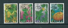1995 Aruba Complete Set Vegetables Plants MNH/Postfris/Neuf Sans Charniere - Curaçao, Antilles Neérlandaises, Aruba
