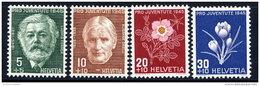 SWITZERLAND 1945 Pro Juventute Set  MNH / **.  Michel 465-68 - Pro Juventute
