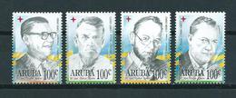 1996 Aruba Complete Set Famous Persons MNH/Postfris/Neuf Sans Charniere - Curaçao, Nederlandse Antillen, Aruba