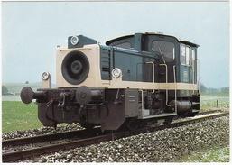 Gmeinder, Mosbach: DIESEL-KLEINLOKOMOTIVE 'KÖF III', Baureihe 333  - (Deutschland) - Trains