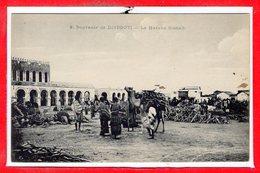 AFRIQUE --  DJIBOUTI -- Marché Somali - Djibouti