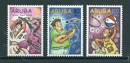 1998 Aruba Complete Set Child Welfare MNH/Postfris/Neuf Sans Charniere - Curaçao, Nederlandse Antillen, Aruba