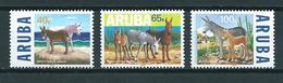 1999 Aruba Complete Set Ezeld,donkey MNH/Postfris/Neuf Sans Charniere - Curaçao, Antilles Neérlandaises, Aruba