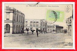 AFRIQUE --  DJIBOUTI -- Rue Gambetta - Djibouti