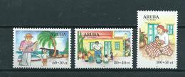 1999 Aruba Complete Set Child Welfare MNH/Postfris/Neuf Sans Charniere - Curaçao, Nederlandse Antillen, Aruba