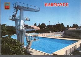 - FRANCE (47) - CPM Ayant Voyagé MARMANDE 1989 - La Piscine - Editions CAMIA - - Marmande