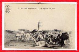AFRIQUE --  DJIBOUTI -- Le Marché Des Bois - Djibouti