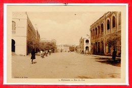 AFRIQUE --  DJIBOUTI -- Rue Du Port - Djibouti
