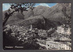 1954 CAMPAGNA SALERNO  PANORAMA FG V SEE 2 SCANS - Salerno