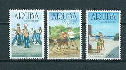 2001 Aruba Complete Set Child Welfare MNH/Postfris/Neuf Sans Charniere - Curaçao, Nederlandse Antillen, Aruba