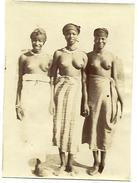 NIGER - 3 Femmes Seins Nus (1 Peulh Entre 2 Haoussas) - Africa