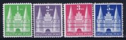 Deutschland Bi Zone  Mi Nr 97 - 100   MNH/**/postfrisch/neuf Sans Charniere Perfo 11