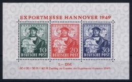 Deutschland Bi Zone  Mi Block Nr 1 A   MNH/**/postfrisch/neuf Sans Charniere