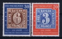 Bund: 1949  Mi 114 - 115 MNH/**/postfrisch/neuf Sans Charniere - [7] West-Duitsland