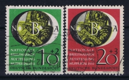 Bund: 1951  Mi  141 - 142  Used Obl Gestempelt - [7] Repubblica Federale