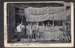 1916 NAPOLI FABBRICA DI MACCHERONI FP V SEE 2 SCANS DIFETTI - Napoli