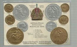 "-""""AUSTRIA-HUNGARY  -   "" !!! - Monnaies (représentations)"