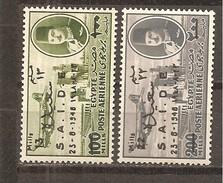 Egipto - Egypt. Nº Yvert  Aéreo 41-42 (MH/*) - Poste Aérienne