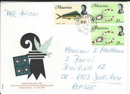 Port Louis 18.12.74 Nach Dietikon CH - Maurice (1968-...)