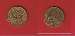 Estonie  --  1 Kroon 1934  --  Km# 16  --  état  SUP - Estonie