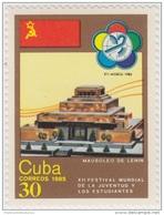 1985.39 CUBA 1985 MNH. Ed.3105. MAUSOLEO DE LENIN. XII FESTIVAL MUNDIAL DE LA JUVENTUD Y LOS ESTUDIANTES. RUSSIA. - Cuba