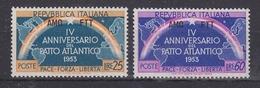 Triest  1953 Nato / Otan 2v  ** Mnh (34255) - NATO