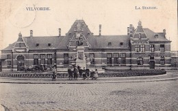 VILVORDE : La Station - La Gare - Belgique