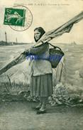ETAPLES-SUR-MER (P.-de-C.) - Pêcheuse De Crevettes - Etaples