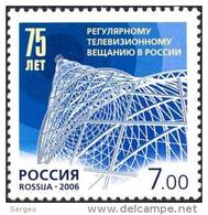 Russia 2006 The 75th Anniversary Of Regular Telecasting In Russia MNH - Unused Stamps
