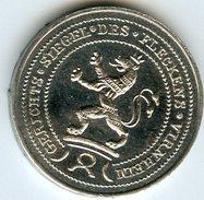 Médaille Jeton Allemagne Germany Dresdner Bank 1977 Lion - Professionals/Firms