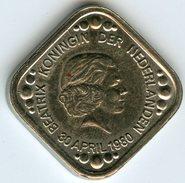 Médaille Jeton Pays-Bas Netherland Beatrix 30 April 1980 - Coronation Medal - Royal/Of Nobility