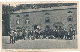 PLEINCHAMP - Ferme Bei Chatel (Argonnen) - Carte Allemande 1915, 2 Scans - Other Municipalities