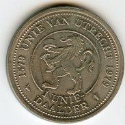 Médaille Jeton Pays-Bas Netherland 1 Unie Daalder 1979 - Monétaires/De Nécessité