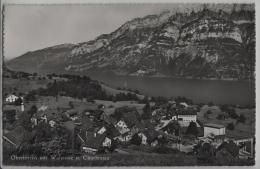 Oberterzen Mit Walensee Und Churfirsten - Photo: Hugo Kopp No. 8193 - SG St. Gall