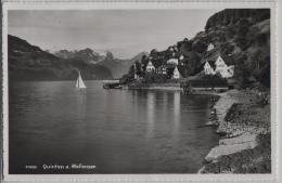 Quinten Am Wallensee - Photo: H. Gross No. 11428 - SG St. Gall