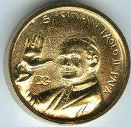 Médaille Touristique Italie Italy Vatican Rome Jean-Paul II Giovanni Paolo II 2013 - Professionnels/De Société