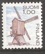Finland 1983 Buildings, Windmill, Harrström  Mi 919 A  MNH(**) - Nuevos
