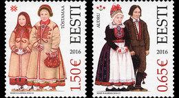 ESTONIA 2016 Estonian Folk Costumes - Audru And Tõstamaa - Estonia